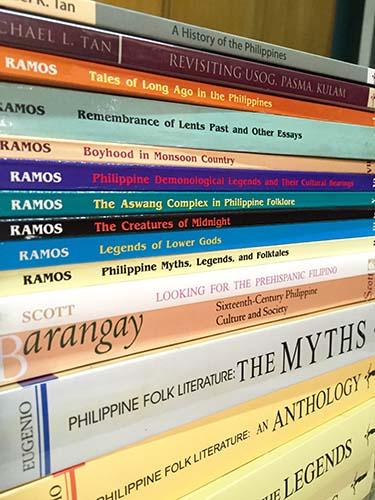 The Thing About Hoarding Books on Philippine Mythology